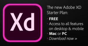 Adobe XD GRATIS