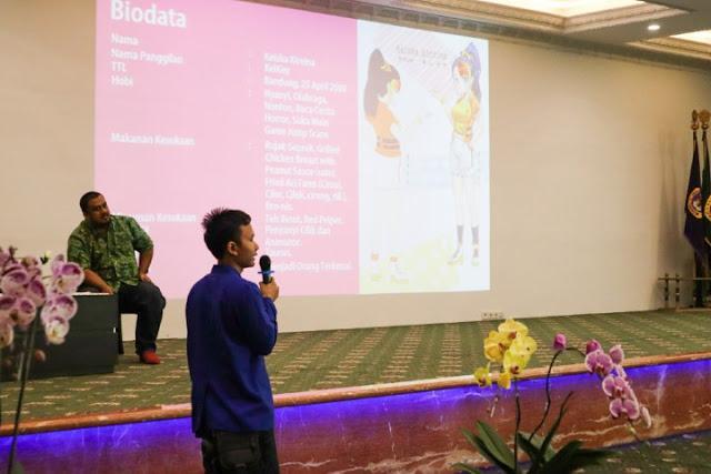 Peresmian Keykey, Si Vtuber Kampus Pertama di Indonesia