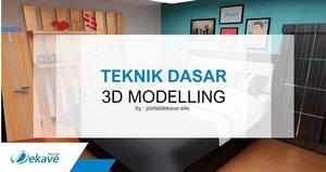 Teknik Dasar 3D Modelling di Software Blender 2.8