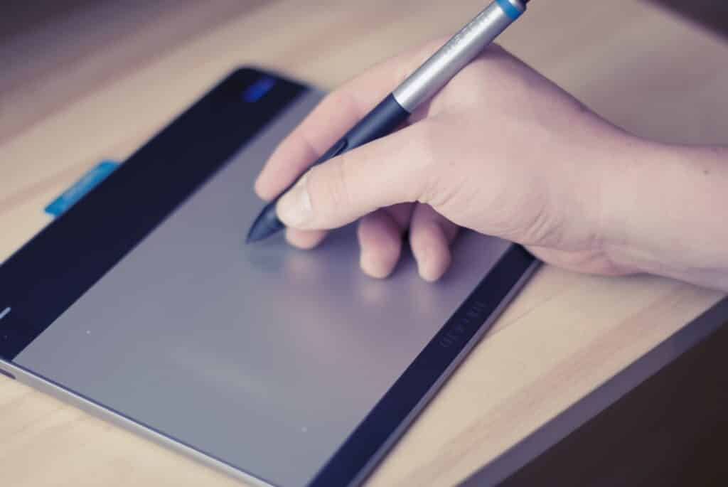 pen, tablet, technology